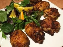 Chicken Thighs stuffed